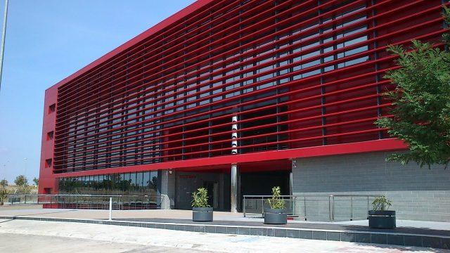 Imagen exterior de las nuevas oficinas de PRÜFTECHNIK en Sevilla
